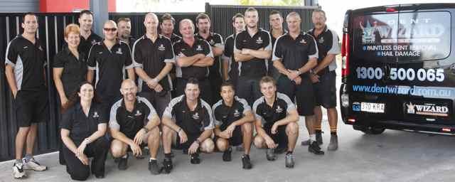 Movember - The Wizard Automotive Team